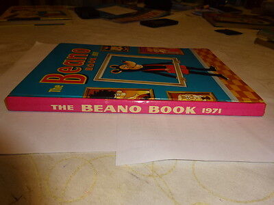 ######  Beano Book 1971 Fantastic Condition Full Spine ######