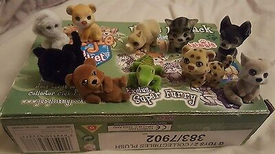Jungle in my pocket set of 10 jungle animals pals boxed