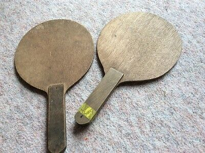 Vintage Wooden Table Tennis Bats