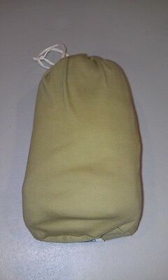 Moby Baby Infant Boys Girls Unisex Wrap Sling With Sack 100% Cotton Olive Green