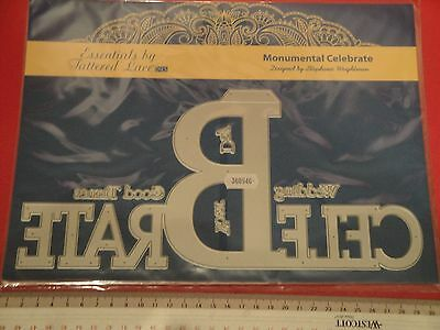 "Tattered Lace - Monumental Moments ""Celebrate"" (New)"