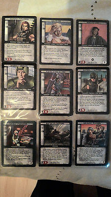 Battletech Card Game Selection of Cards - 1st edition OOP