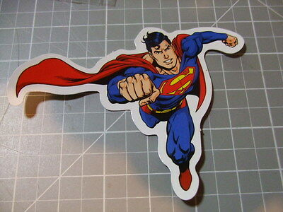 SUPERMAN FLYING Sticker/ Decal Bumper Stickers Actual Pattern NEW
