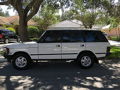 1995 Land Rover Other LWB 1995 Land Rover Range Rover County LWB