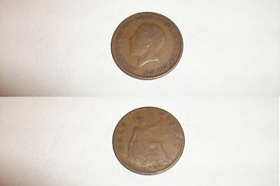 Half Penny Coin 1928 George V