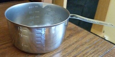 Vintage Foley 2 Cup Measuring Cup - 2 Spout Butter Warmer