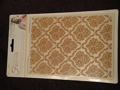 Crafters Companion: Embossing Folder: Together Forever: Decadent Damask 5x7
