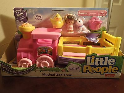 Fisher Price Little People Musical Zoo Train. New