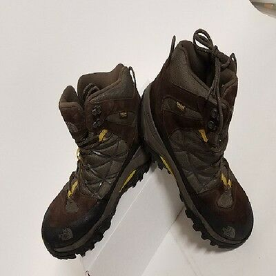 The North Face Men's Storm Mid WP Hiking Boot, Weimaraner Brown/Antiq Moss, Sz11