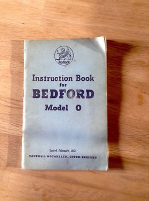 Bedford Model O Instruction book