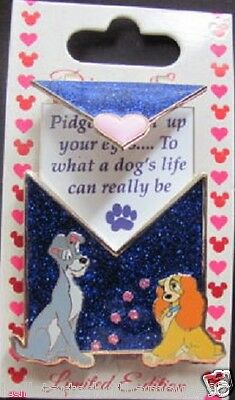 Love Letters - Pin of the Month: Lady and the Tramp LE Disney Pin