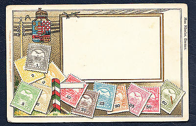 Hungary Stamp Card Unused