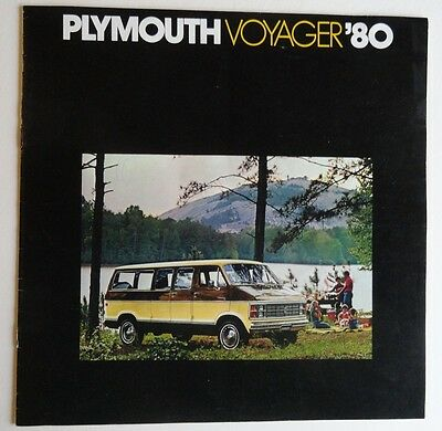 Plymouth Voyager 1980 Sales Brochure
