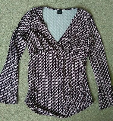 Mothercare maternity top. size 10. Exc condition