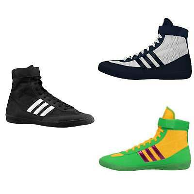 Adidas Boxing Combat Speed IV Boots  - Black Navy Gold