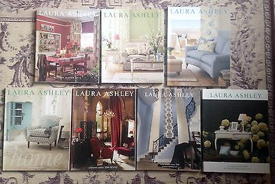 Laura Ashley Catalogues, 7 Magazines/Books Bundle, Home, Interior Design ������