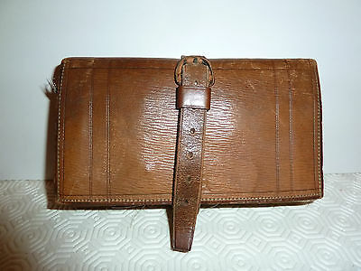 Hardy Fishing Flies And Wallet - Leather - Vintage - Excellent Condition