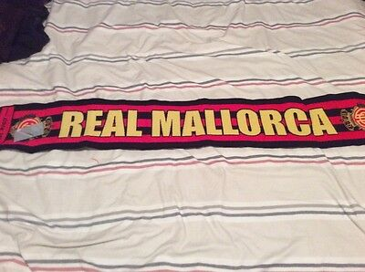 Real Mallorca football scarf