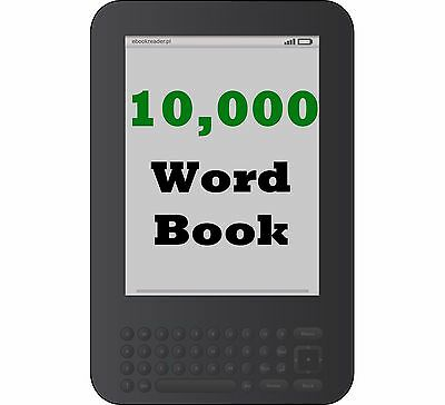 Digital Book Writing Services - Get a 10,000 Word Book on Any Topic - Kindle