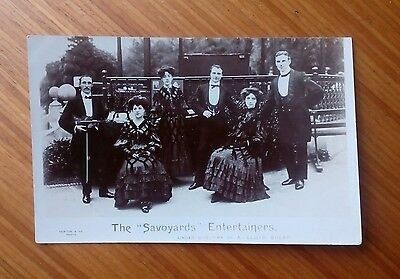 """Vintage* Group with Violin and Bow. The """"Savoyards"""" Entertainers Ladies & Gents"""