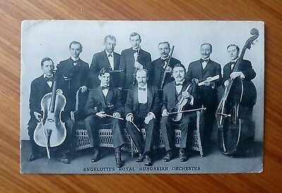 Vintage* Angelotti's Royal Hungarian Orchestra. San Francisco. August 14th 1912