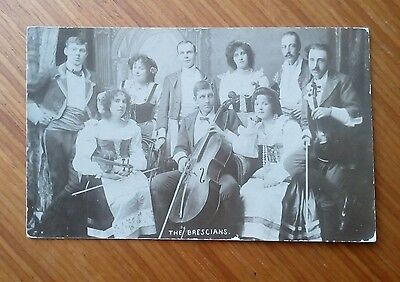 Vintage* Group of Ladies & Gentlemen with Violins, Cello and Bows. The Brescians