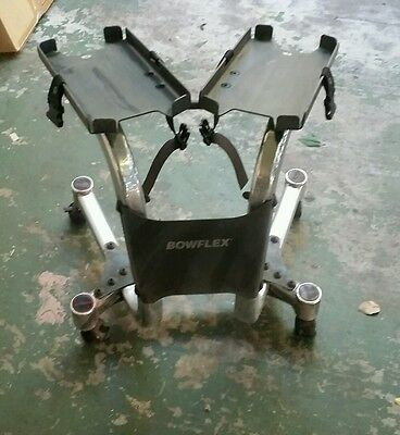 Bowflex SelectTech  Dumbbell Stand Classic Model with Wheels used