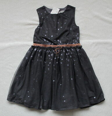 ***BNWT Next girl Grey Sequinned party dress 4-5 years***