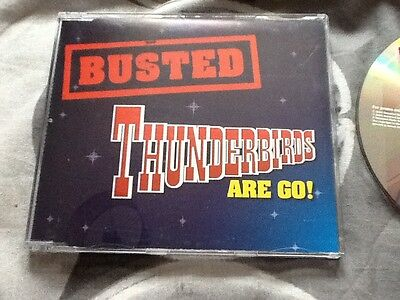 Rare BUSTED Thunderbirds Are Go promotional CD McBUSTED MATT Charlie James mcFly