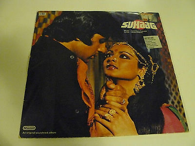 BOLLYWOOD RECORDS 1970s  RARE  SUHAAG   USED