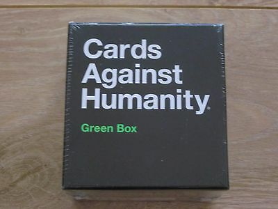 Cards Against Humanity Green Box Party / Drinking Game - Brand New In Box