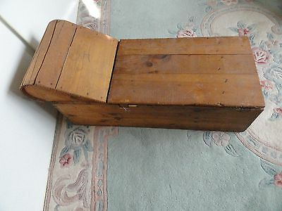 Child Doll Fainting Couch Shabby Chic Folk Art Old Wood North Star Shoe Box