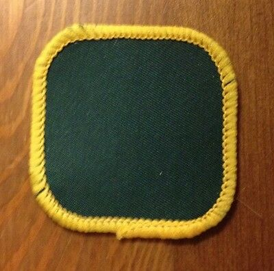 Scout Cub blank badge