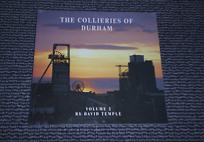 THE COLLIERIES OF DURHAM. Vol 2 BY DAVID TEMPLE.