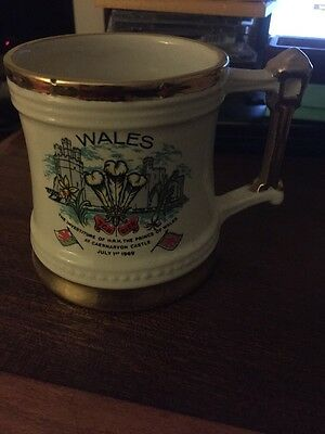 Prince Of Wales Investiture Mug
