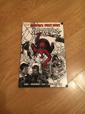 Marvel The Amazing Spider-Man 'kravens First Hunt' Thick Comic. Excellent Condit