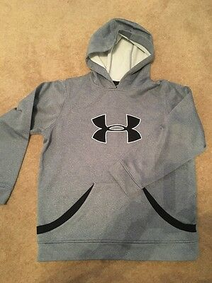Boys Under Armour Grey Sweat Shirt YLG