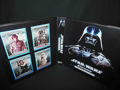 Custom Made Star Wars Chrome Perspectives Trading Card Binder Graphics Only