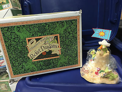 Whimsical World of Pocket Dragons  Seaside Castle Limited Edition MIB