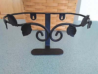 Longaberger Wrought Iron Wall Vase basket holder