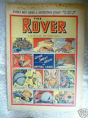 THE ROVER Comic, No.1327, 2nd Dec 1950