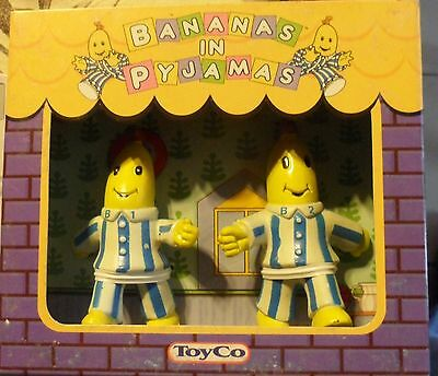 Lot 3 Boxes  Bananas In Pyjamas Toyco 1998  Made In Argentina