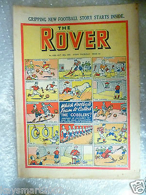 THE ROVER Comic, No.1322, 28th Oct 1950