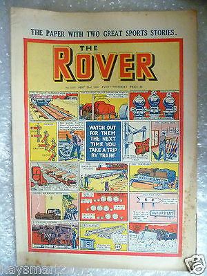 THE ROVER Comic, No.1317, 23rd Sept 1950