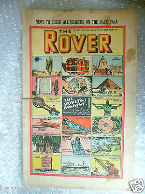 THE ROVER Comic, No.1241, 9th April 1949