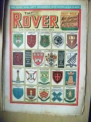 Comic- THE ROVER, NO. 1500, 27th March 1954