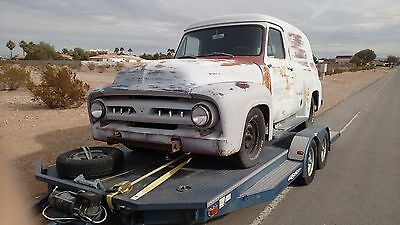 1953 Ford F-100 Panel F100 Ford Panel Truck 1953