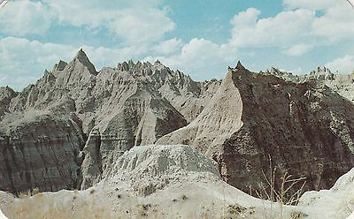 LAM(Y) Badlands, SD - Scenic View of Landscape - Spring