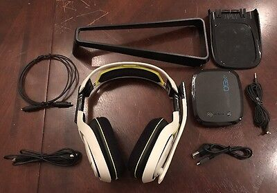 Astro A50 Xbox One Edition White/Lime Headband Headsets for Multi-Platform