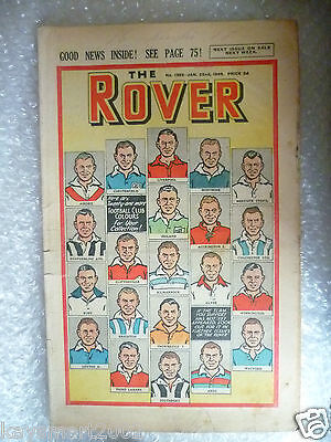 THE ROVER Comic, No.1232, 22nd Jan 1949